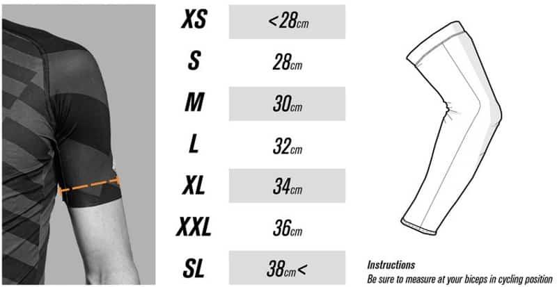 Maattabel Sport2x