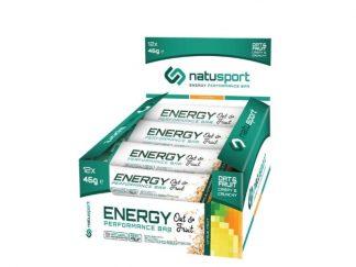 NatuSport Energy Performance Bar Citrus Fruit 12 stuks